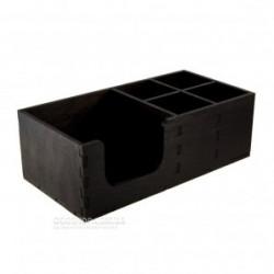 Органайзер черный деревянный (LS-004) 30*15см