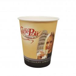 Стакан картонный 175мл вендинг  Caffe Poli Мальчик/девочка (50шт)