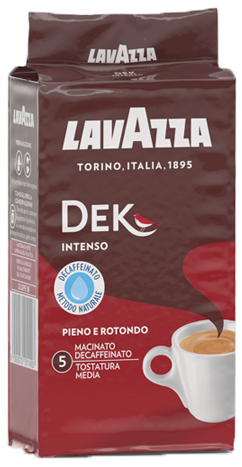 Lavazza 250г Decaffeinate Intenso молотый