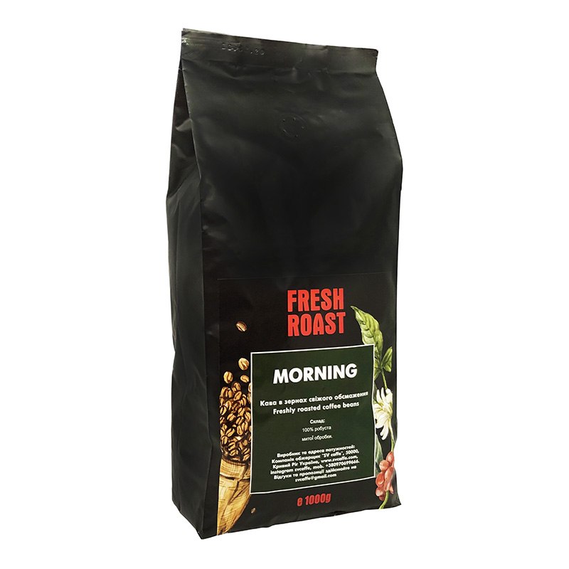 Fresh Roast Morning Espresso Blend 1000г